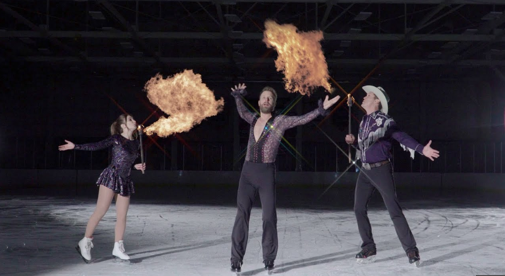 [WATCH] Dierks Bentley's Burning Man Tour - ON ICE - Coming to a Rink Near You!