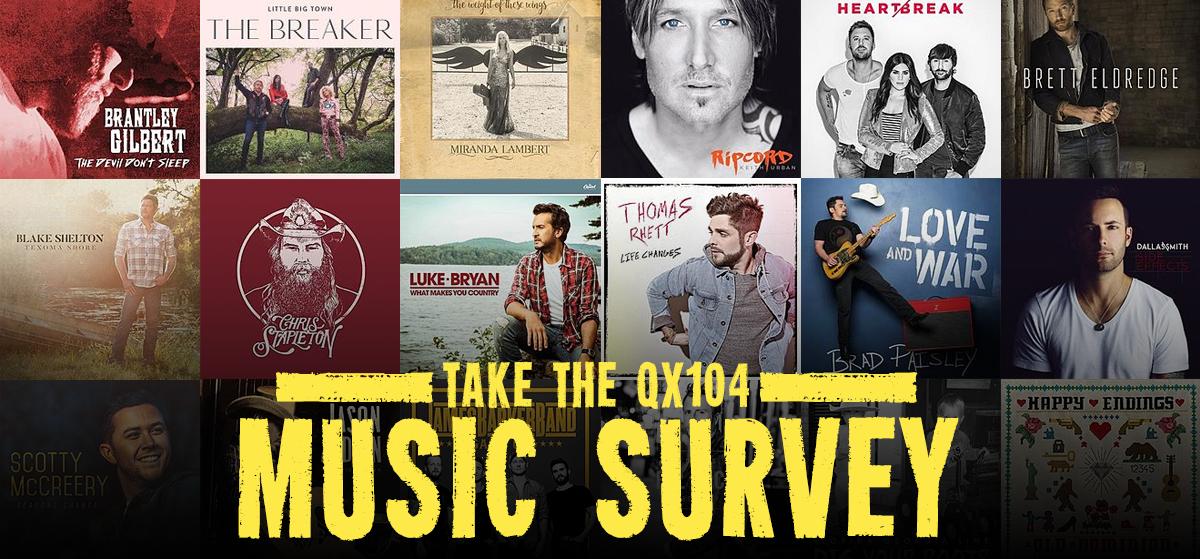 QX104 Music Survey