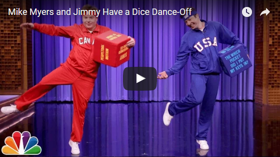 Jimmy Fallon and Mike Myers in a USA vs Canada Dance Off!