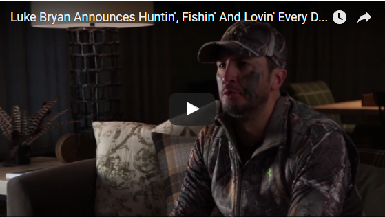 Luke Bryan HUNTS for openers on his Huntin' Fishin' and Lovin' Every Day Tour!