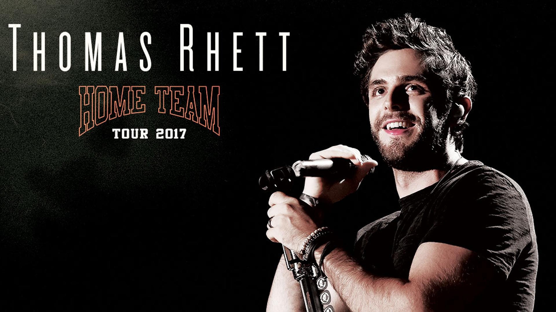 WATCH: Thomas Rhett & Home Team Tour Openers Cover Bruno Mars