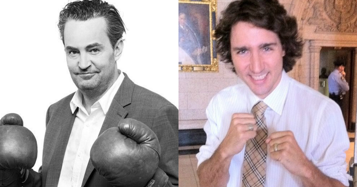 Matthew Perry Beat Up Justin Trudeau