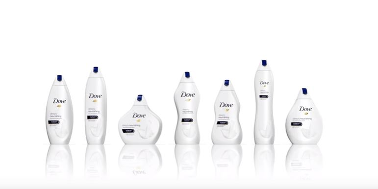 """Dove's New """"Body Type"""" Bottles Are Being Mocked on Twitter"""