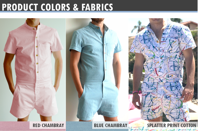 ROMPERS for Men  this  Summer!