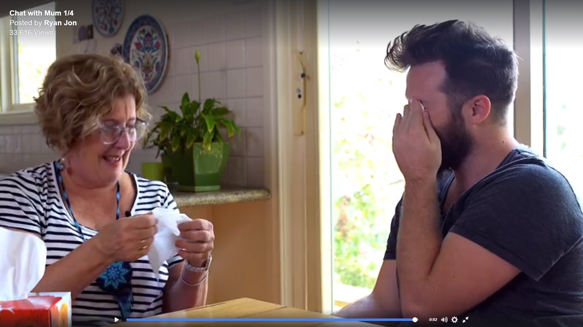 Adopted young man reaches out to birth mother via social media (Grab a tissue and Watch...)