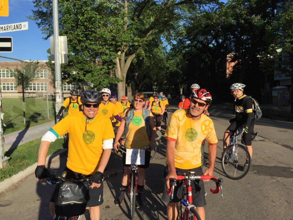 Bicycles take over Winnipeg this week!