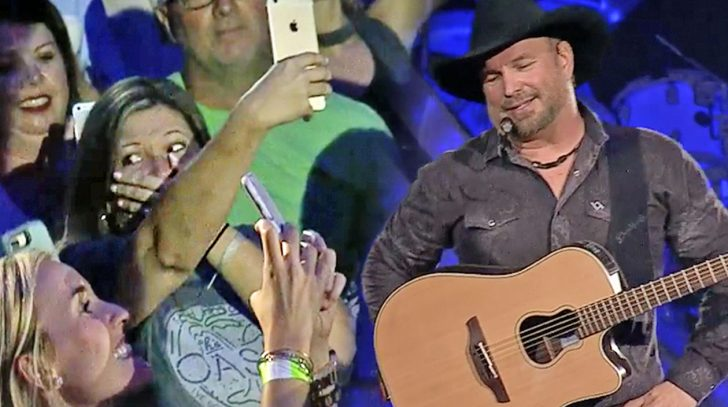 "Garth Brooks becomes a ""hall pass""!"