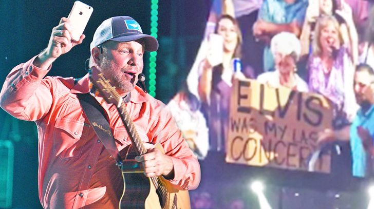 Elvis was this woman's last concert...until GARTH happened.