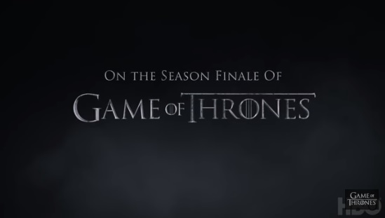 Game of Thones fans: the season finale trailer...is here!