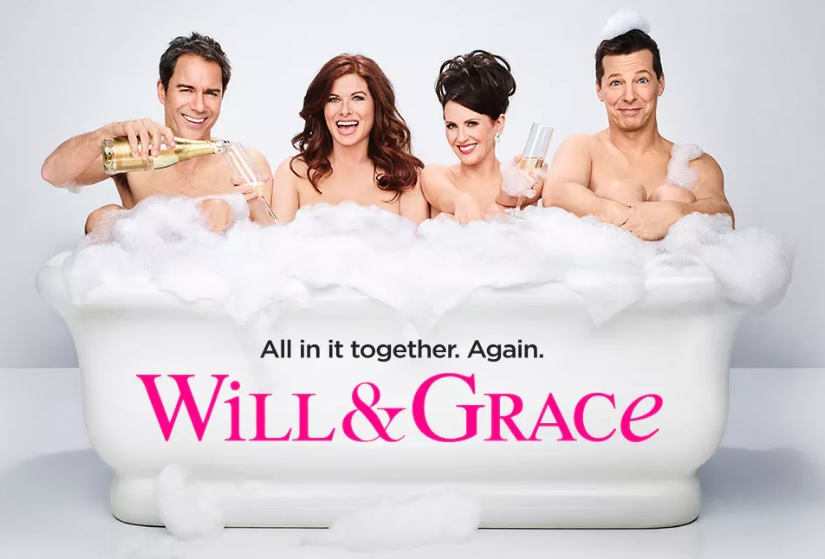 "First look at the ""Will & Grace"" reboot? Don't mind if I do!"