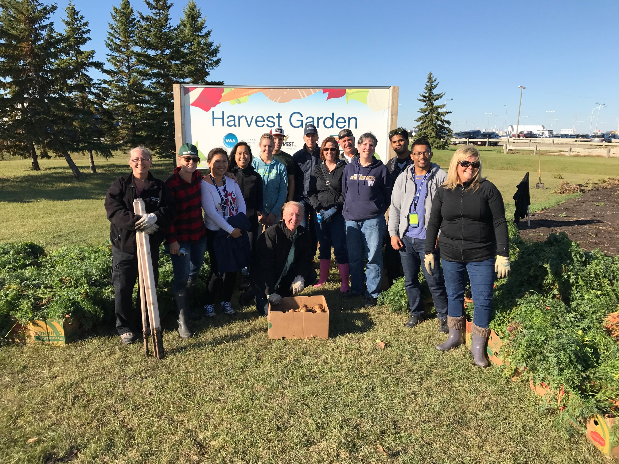 A Grow a Row Miracle for Winnipeg Harvest TODAY!