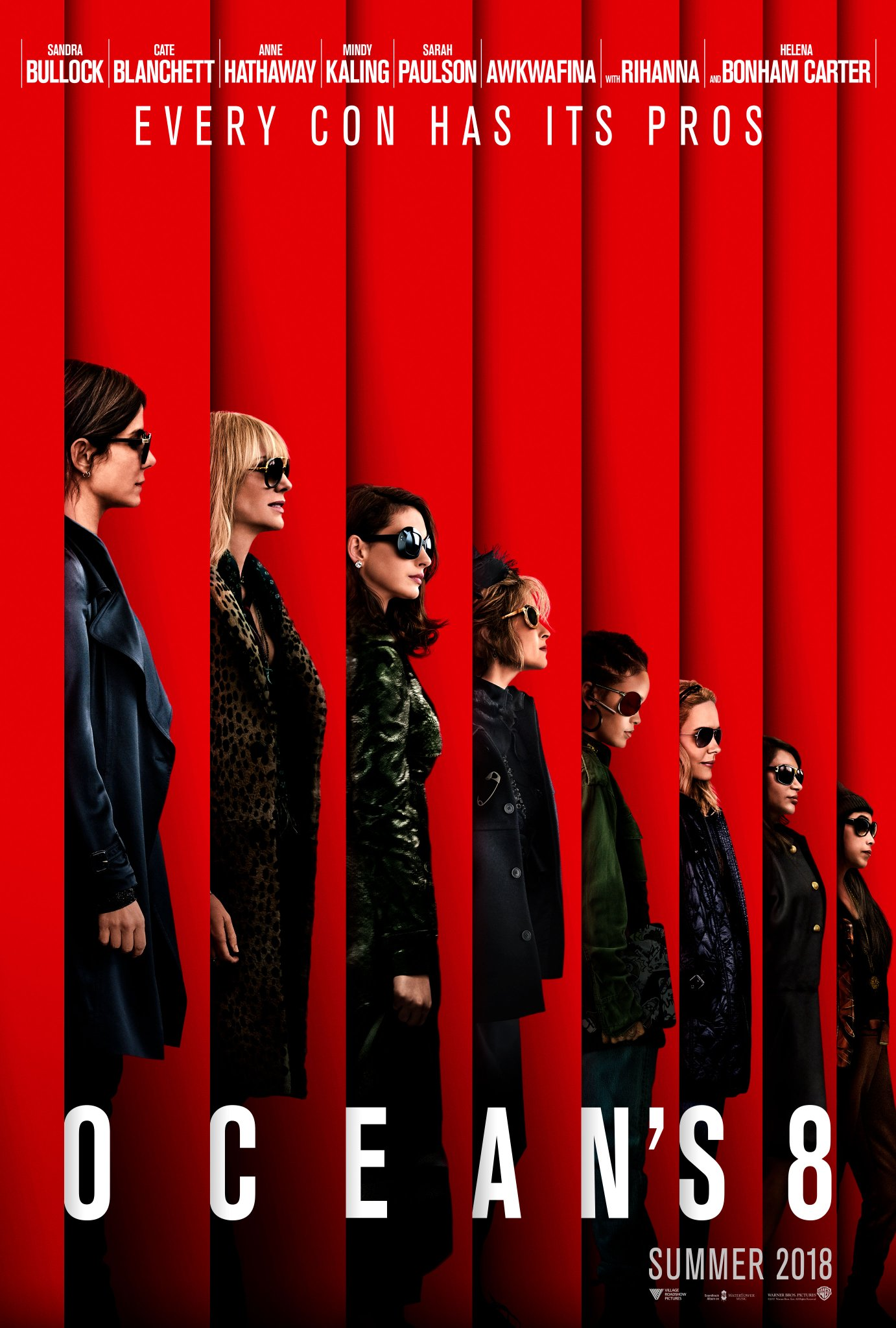 """The first """"Oceans 8"""" trailer is here..."""