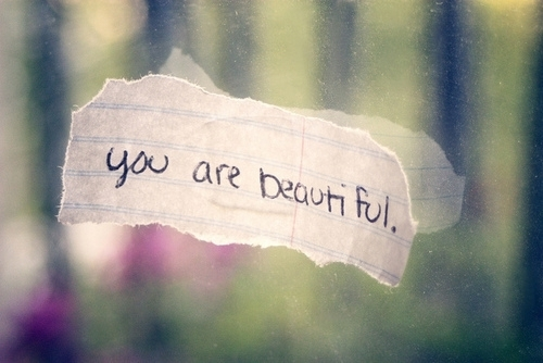 """People react to being called """"beautiful"""" and...it's BEAUTIFUL."""