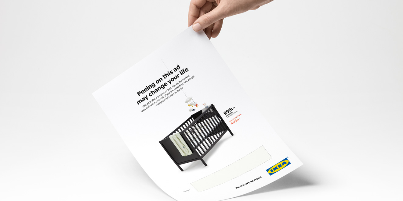 Ikea Wants You to Pee on Their Ad.