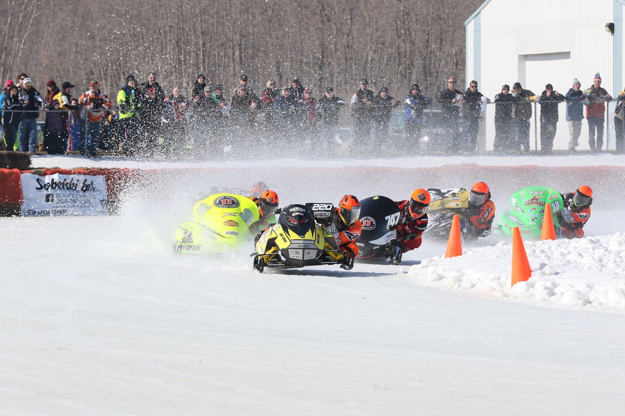 The Fastest Snowmobiles in the world are coming to BEAUSEJOUR!!