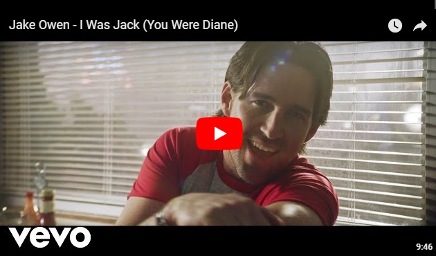 """Jake Owen releases """"mini movie"""" for I was Jack You Were Diane...Watch!..."""