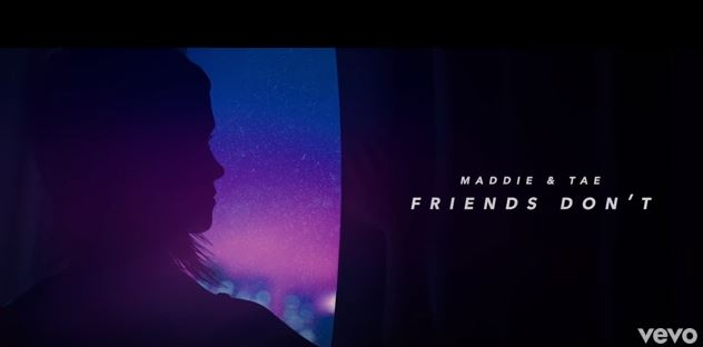 "New 2U at 2:02 May 29, 2018: Would you add Maddie and Tae's ""Friends Don't"" to your personal playlist?"