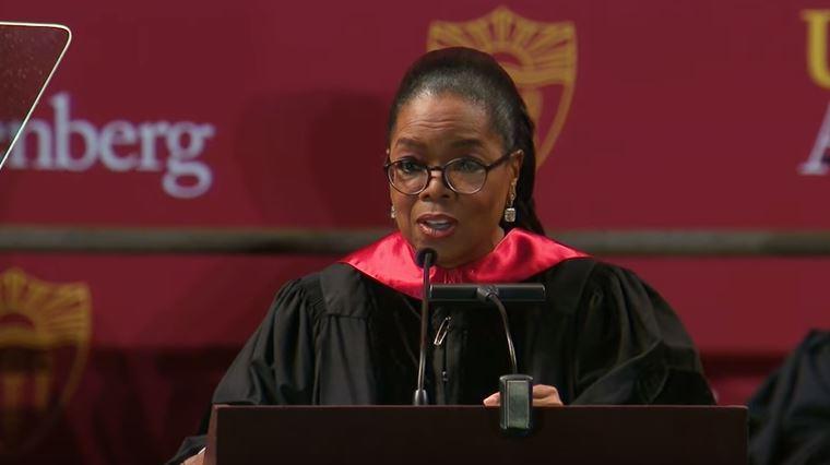 Oprah Gave an Inspiring Commencement Speech at USC