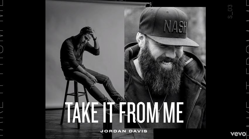 """New 2U at 2:02 May 18, 2018: Would you add Jordan Davis' """"Take It From Me"""" to your personal playlist?"""