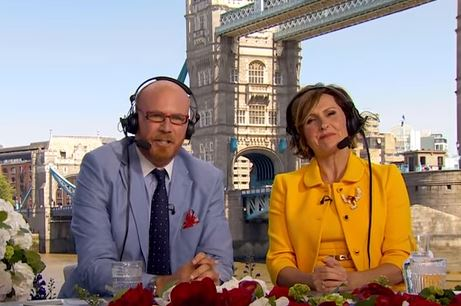 "Will Ferrell and Molly Shannon AKA ""Cord and Tish"" Provide Commentary for the Royal Wedding"