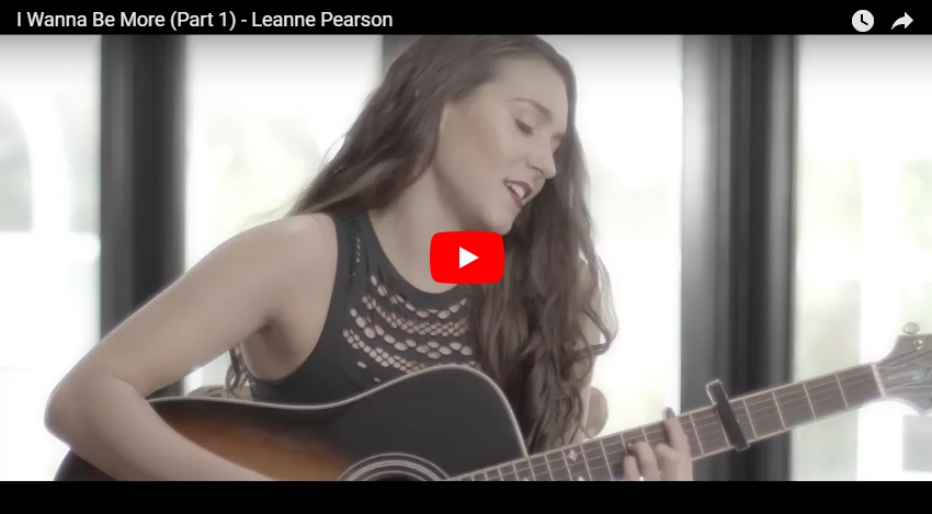 "New 2U at 2:02 May 2, 2018:  Would you add Leanne Pearson ""I Wanna Be More"" to your personal playlist?"