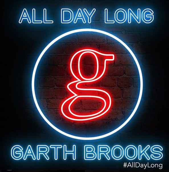 """New 2U at 2:02 June 19, 2018: Would you add Garth Brooks' """"All Day Long"""" to your personal playlist"""