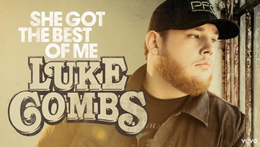 """New 2U at 2:02 June 20, 2018: Would you add Luke Combs' """"She Got the Best of Me"""" to your personal playlist"""