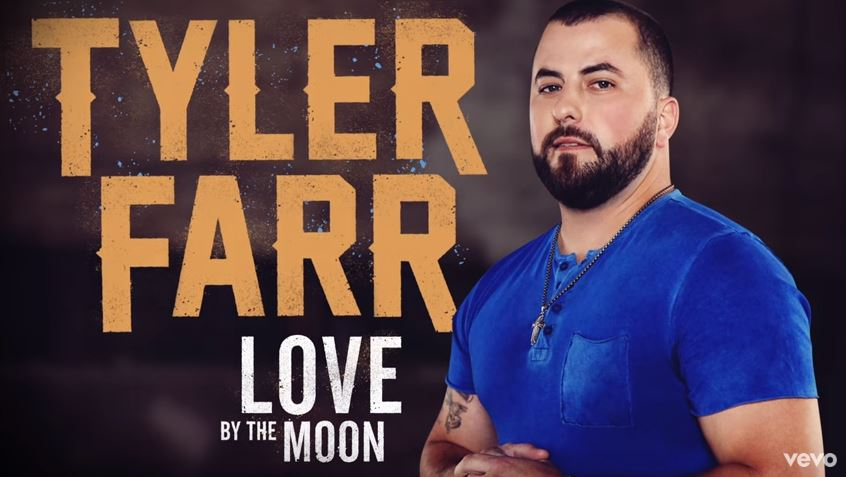 "New 2U at 2:02 June 12, 2018: Would you add Tyler Farr's ""Love By the Moon"" to your personal playlist"