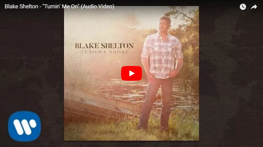 "New 2u at 2:02 July 18, 2018:  Would you add Blake Shelton ""Turnin' Me On"" to your playlist?..."