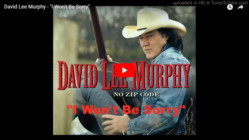 "New 2U at 2:02 July 25, 2018: Would you add David Lee Murphy's ""I Won't Be Sorry"" to your playlist?..."