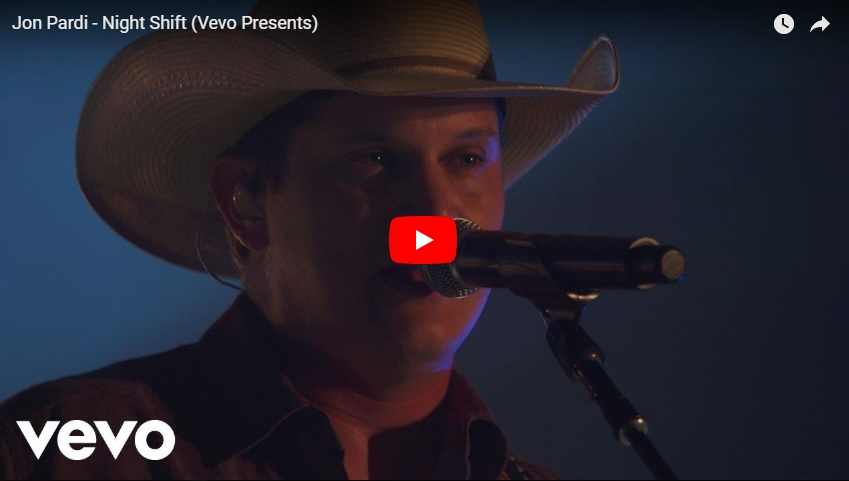 "New 2 U at 2:02 July 27:  Would you add Jon Pardi's ""Night Shift"" to your personal playlist?..."