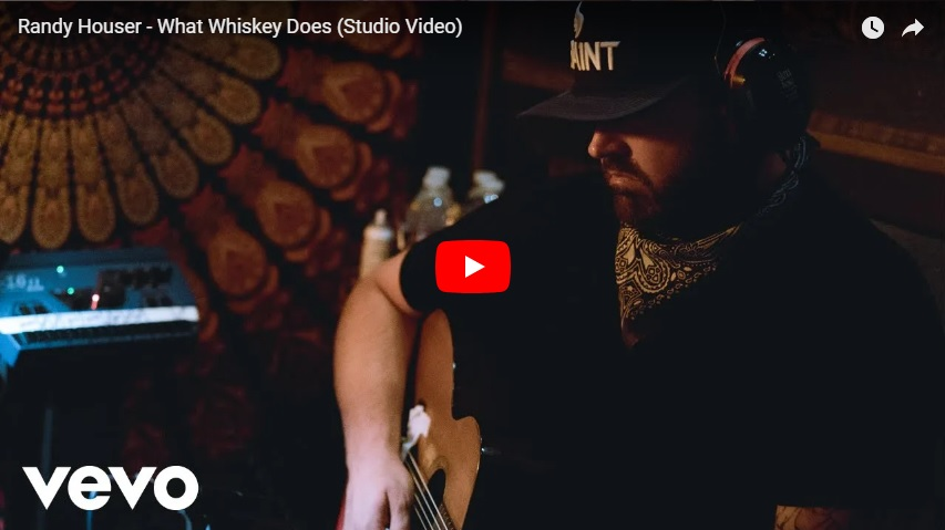 "New 2U at 2:02 July 30, 2018:  Would you add Randy Houser, ""What Whiskey Does"" to your personal playlist?..."