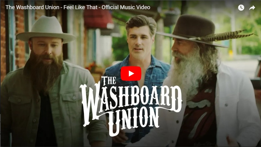 "New 2U at 2:02 July 16, 2018:  Would you add Washboard Union's ""Feel Like That"" to your personal playlist?..."