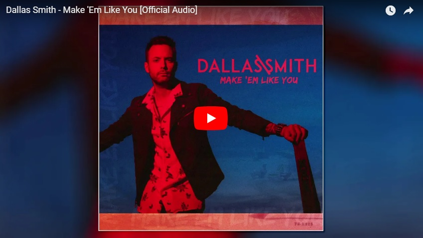 "New 2 u at 2:02 July 20, 2018: Would you add Dallas Smith's ""Make 'Em Like You"" to your playlist?..."
