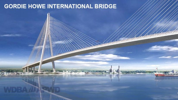 One of the most important bridges in North America about to be built!