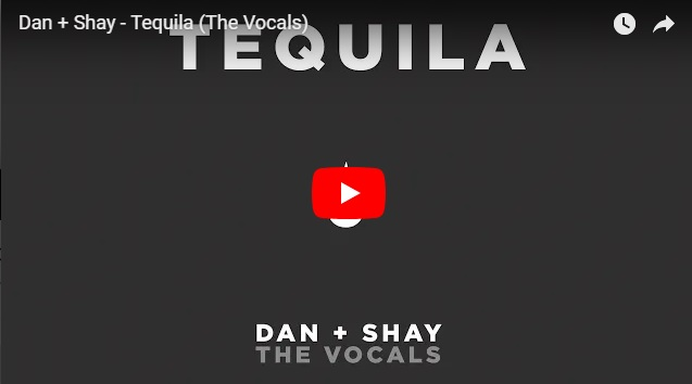 "Listen to this! Dan + Shay drop ""vocals only"" versions of Tequila & Speechless and they are flawless..."