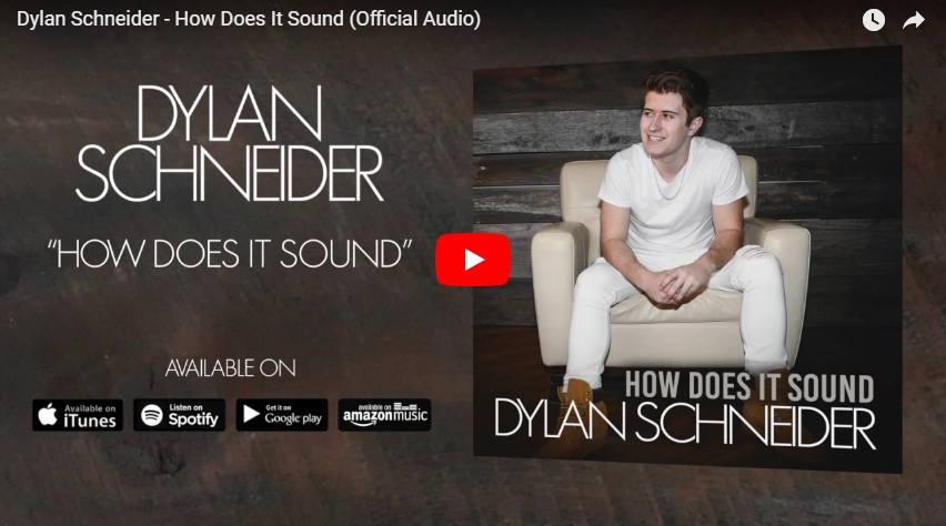 "New 2 U at 2:02 Aug 08, 2018: Would you add Dylan Shcneider's ""How Does It Sound"" to your personal playlist?..."
