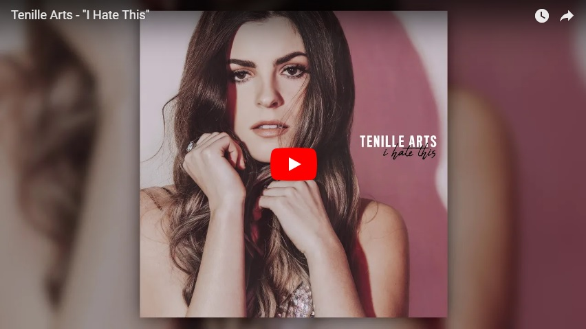 "New 2U at 2:02 Aug 14, 2018:  Would you add Tenille Arts ""I Hate This"" to your personal playlist?..."