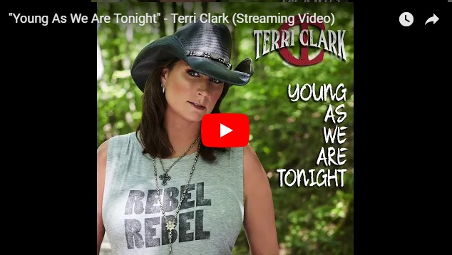 "New 2U at 2:02 Aug. 27, 2018:  Will you add Terri Clark's ""Young As We Are Tonight"" to your personal playlist?..."