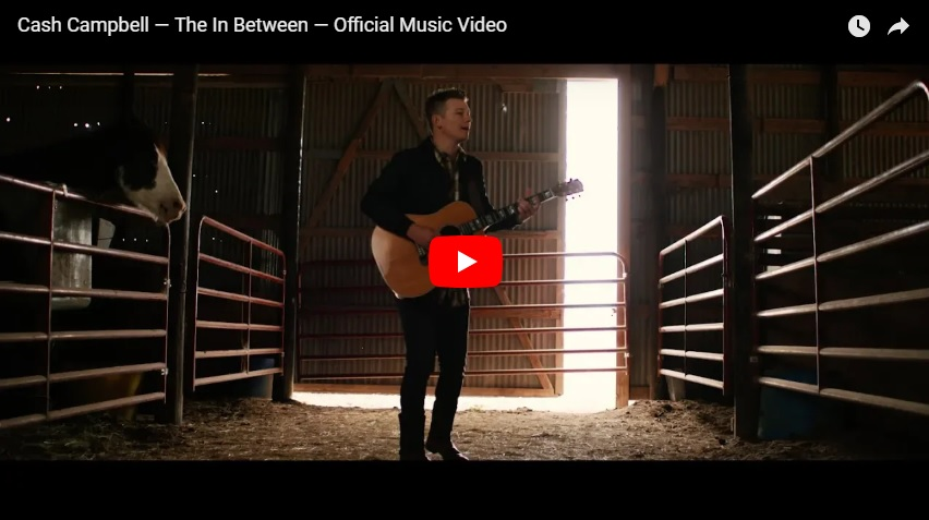 """New 2U at 2:02 Sept. 6, 2018:  Will you add Cash Campbell's """"The In Between"""" to your personal playlist?"""