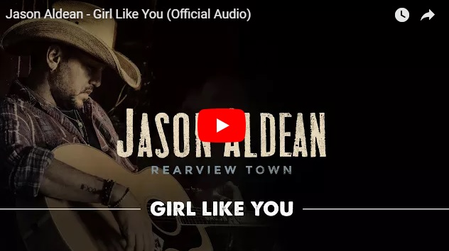 "New 2U at 2:02 Sept. 20, 2018:  Would you add Jason Aldean's ""Girl Like You"" to YOUR playlist?..."