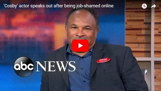 "Former Cosby Show actor responds brilliantly to being ""job-shamed"" for working at a supermarket (Watch!...)"