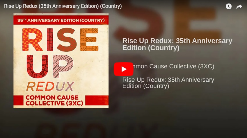 New 2U at 2:02 Sept 12, 2018:  Will you be adding the 35th Anniversary remake of Rise UP to your playlist?