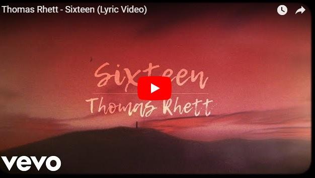 "New 2U at 2:02 Sept 13, 2018: Will you add Thomas Rhett ""Sixteen"" to your playlist?..."