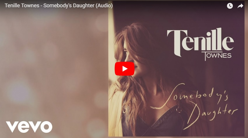 "New 2U at 2:02 Sept. 5, 2018:  Would you add Tenille Townes ""Somebody's Daughter"" to your personal playlist?..."