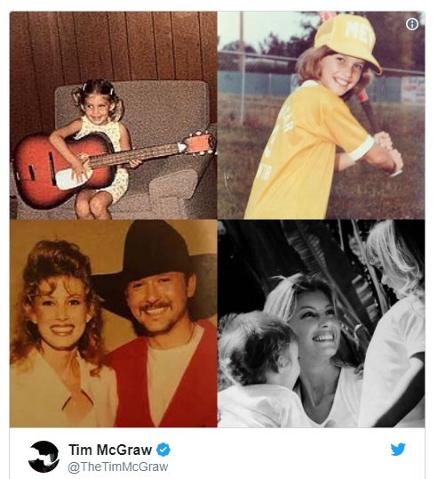 Tim McGraw's super sweet love note to Faith Hill for her birthday has us all swooning...
