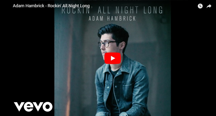 "New 2U at 2:02 Oct. 12, 2018:  Would you add Adam Hambrick's ""Rockin' All Night Long"" to your personal playlist?..."