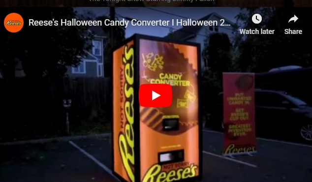 Got crappy candy? Reese's will let you trade it in for their good stuff! (WATCH!...)