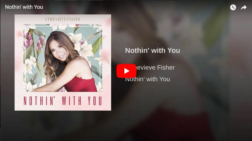 "New 2U at 2:02 Oct. 2, 2018:  Will you add Genevieve Fisher's ""Nothin' With You"" to your personal playlist?..."