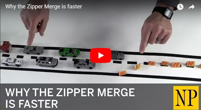 Why the Zipper Merge is faster (it really is!)